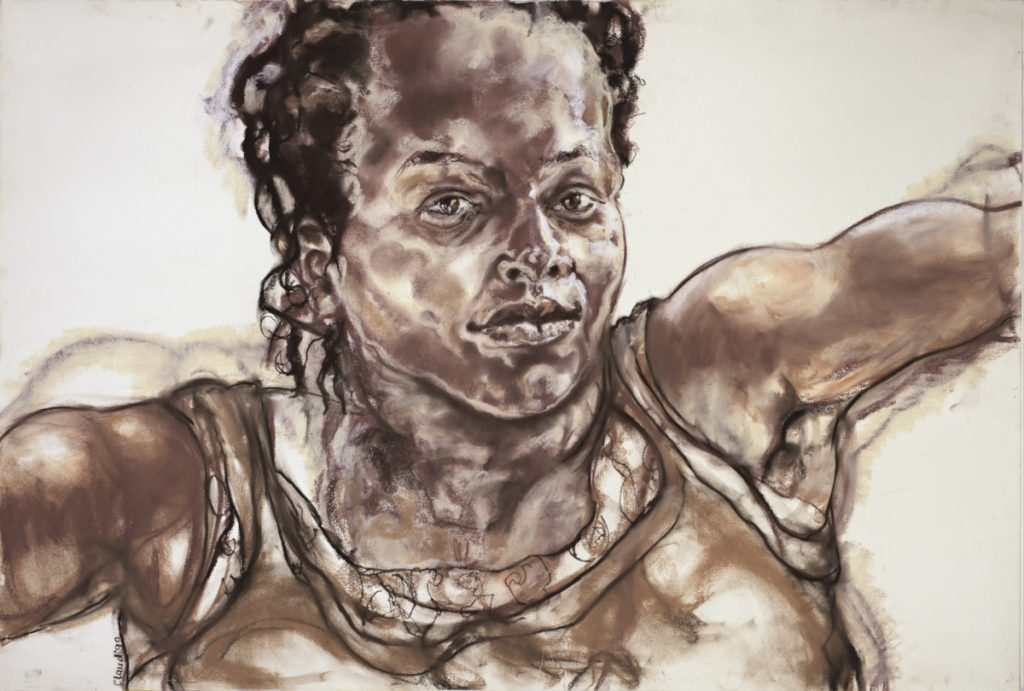 Claudette Johnson painting